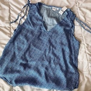 GAP Floral Tank Top Blouse WITH TAGS